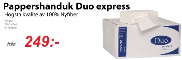 Duo Torkpapper