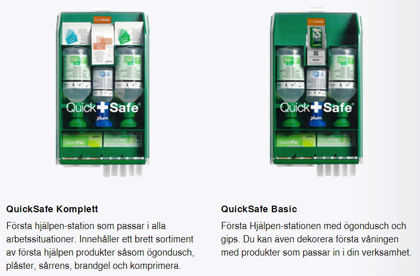 plum QuickSafe komplett & Basic