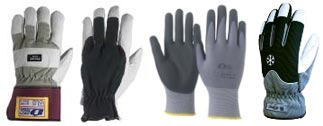 Soft touch handskar